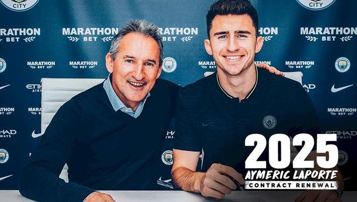 Laporte renueva con el Manchester City hasta 2025