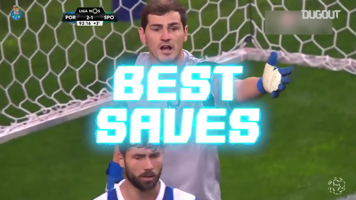Best Saves: Iker Casillas Vs Sporting