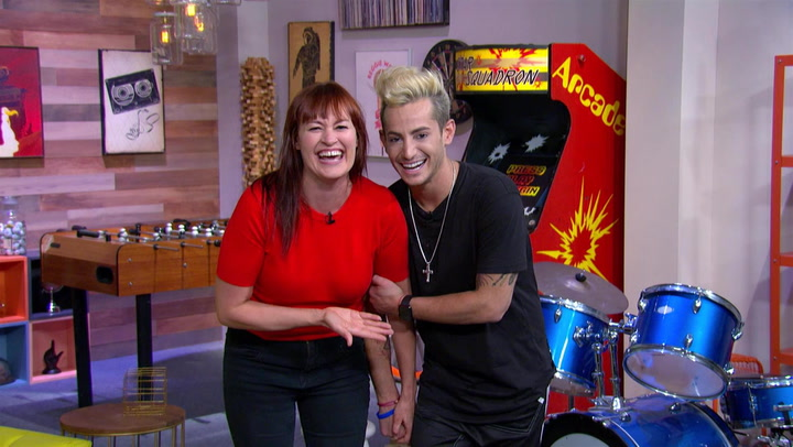 Frankie Grande and Mamrie Hart List Taylor Swift's Exes: Trivial Takedown PreGame