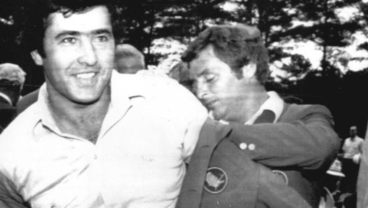 Así fue el momento en que Severiano Ballesteros se llevó su primer Masters de Augusta