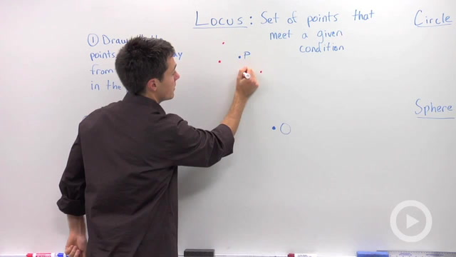 Locus and Definition of a Circle and Sphere