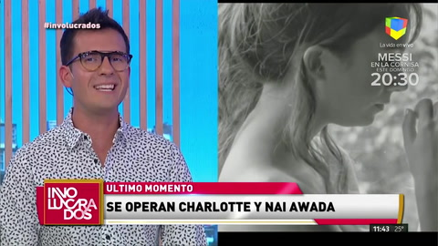 ¿Nai Awada y Charlotte Caniggia se operan juntas?