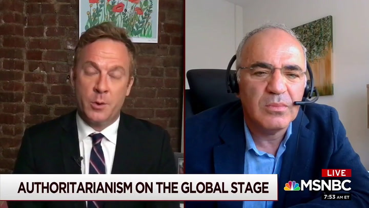 Garry Kasparov: 'Anything But Landslide Victory for Dem Ticket' May Lead to 'Doomsday Scenario'