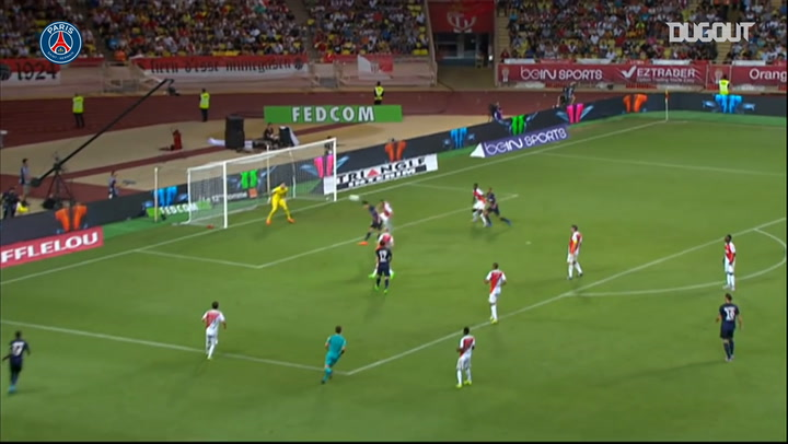 Cavani concludes a superb team effort against Monaco in 2016
