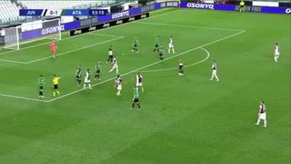 Así fueron los dos goles de penal de Cristiano Ronaldo ante Atalanta