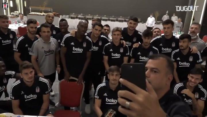 Sergen Yalçın, Trabzonspor Maçı Öncesi Oyuncuları İle Konuştu