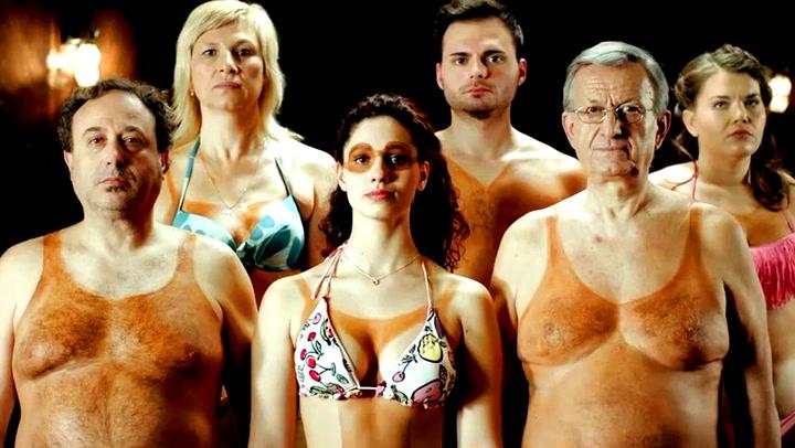 Grekernes hysteriske svar til de solbrente danskene