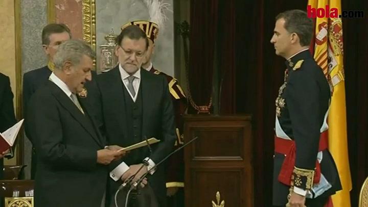 Felipe VI hace su juramento como Rey de España ¡Viva el Rey!