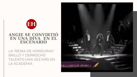 La hondureña Angie Flores se convirtió en una diva en el escenario