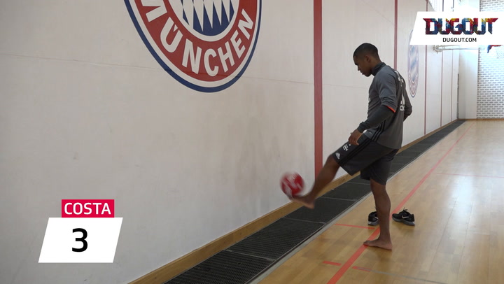 Wall Ball Challenge: Douglas Costa