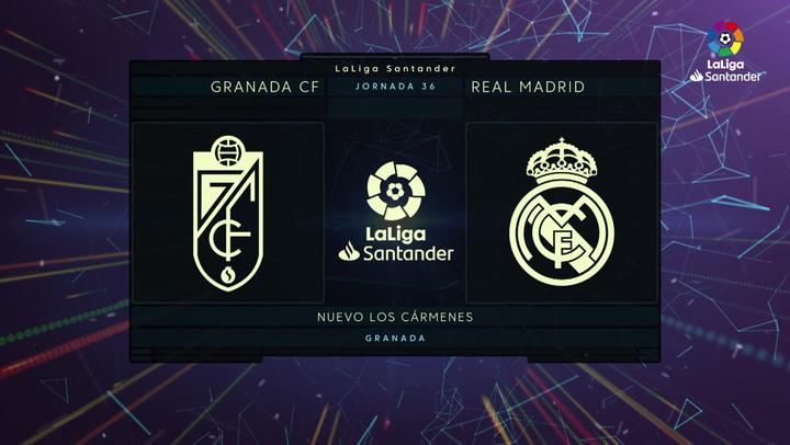 LaLiga Santander (Jornada 36): Granada 1-4 Real Madrid
