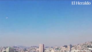 Densa capa de humo cubre Tegucigalpa producto de los incendios forestales