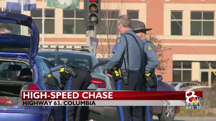 Man arrested after high-speed chase