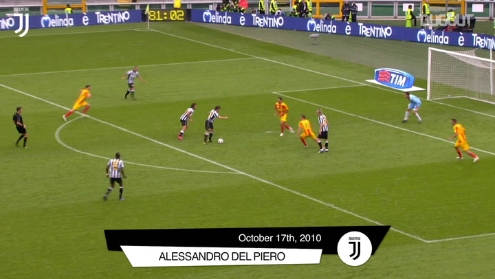 Juventus' top five goals at home to Lecce