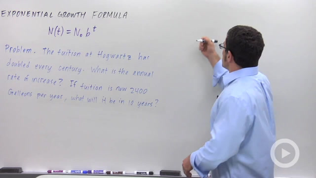 Exponential Growth and Decay - Problem 1