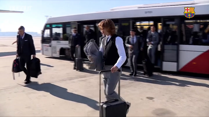 Behind The Scenes: Barça's trip to Naples ahead of Champions League clash