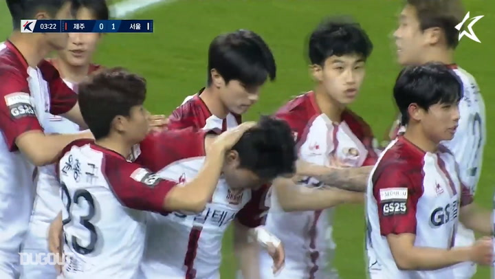 Jeju United 2-1 FC Seoul: Shin Jae-won nets first K League goal