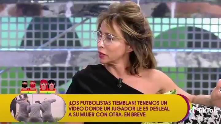 """María Patiño desvela su fetiche sexual: """"Chuparlos..."""""""
