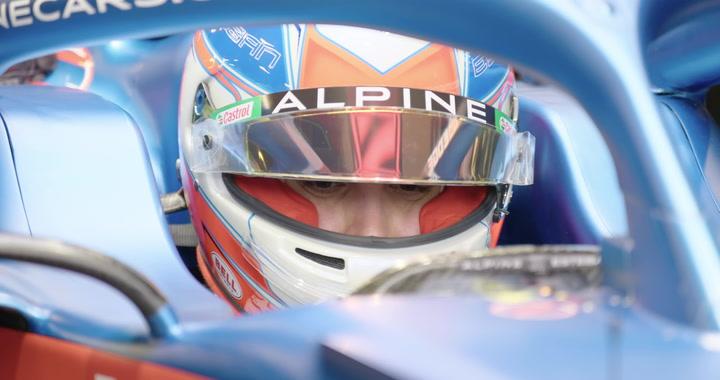 Esteban Ocon estrena el Alpine A521