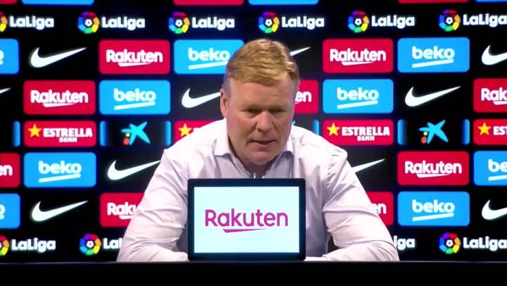 """Ronald Koeman: """"Veo la eliminatoria ante el PSG muy igualada"""""""