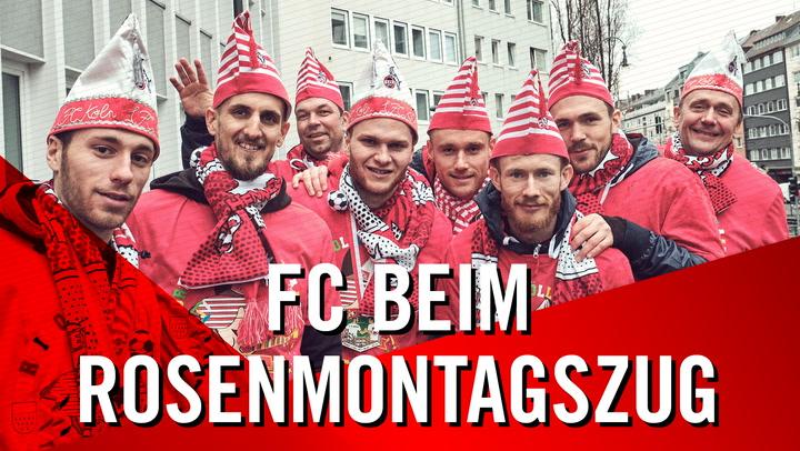 FC beim Rosenmontagszug