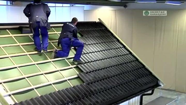 Bygge garasje: Hvordan legge takstein