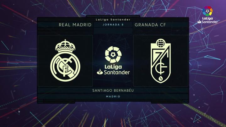 LaLiga (J8): Resumen y goles del Real Madrid 4-2 Granada
