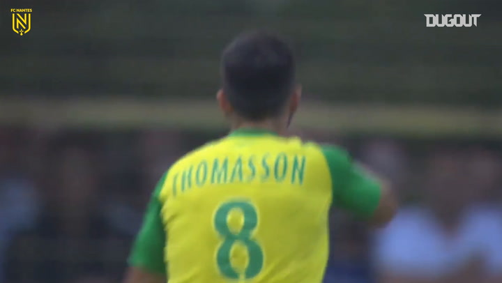 Adrien Thomasson's great finish vs Strasbourg