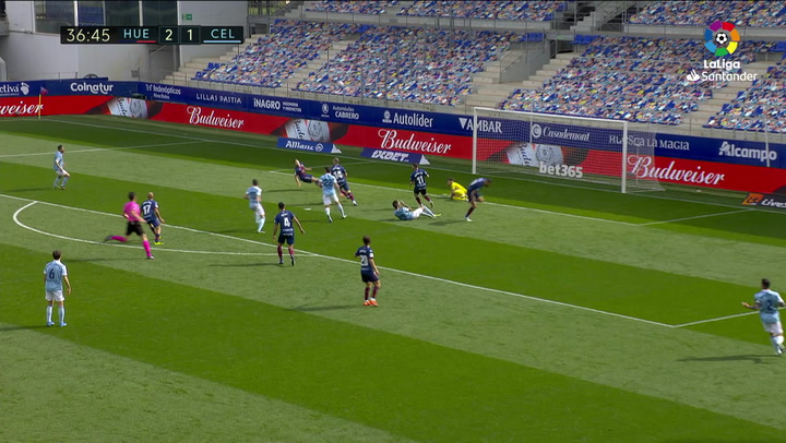 Gol de Nolito (2-2) en el Huesca 3-4 Celta
