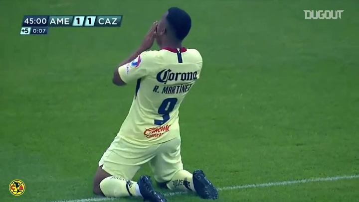 Roger Martínez's brace vs Cruz Azul