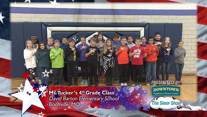 David Barton Elementary School - Ms. Tucker - 4th Grade