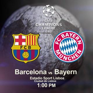Barcelona buscará el pase a semis de la Champions ante el Bayern