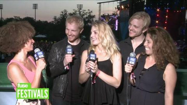 Festivals: Voodoo 2012: Delta Rae Interview 1 New