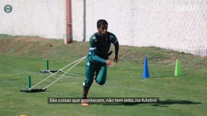 Gabriel fala sobre lesão e volta do Coritiba no Paranaense