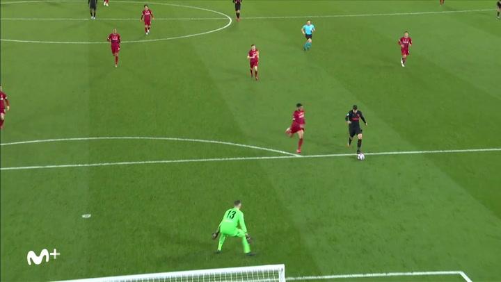 Champions League: Liverpool - Atlético Madrid. Gol de Álvaro Morata (2-3)