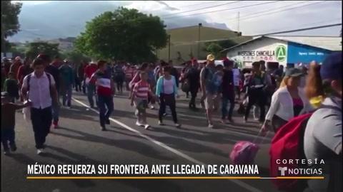 Inmigrantes siguen ruta hacia EEUU pese a advertencia de Trump