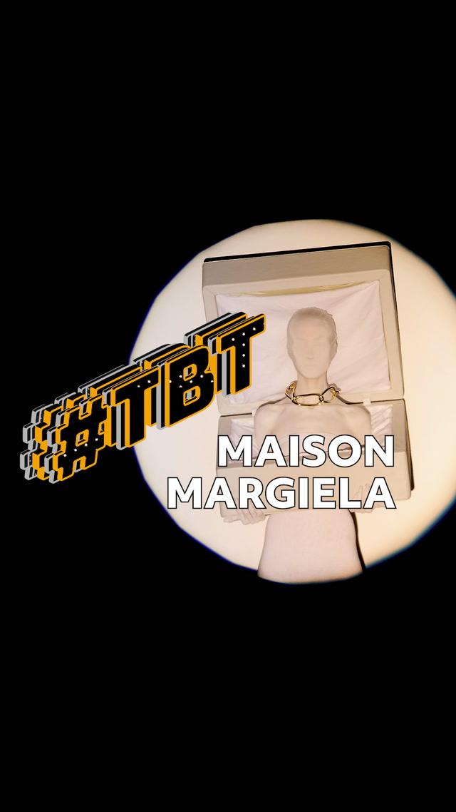 #tbt Moda - Maison Margiela