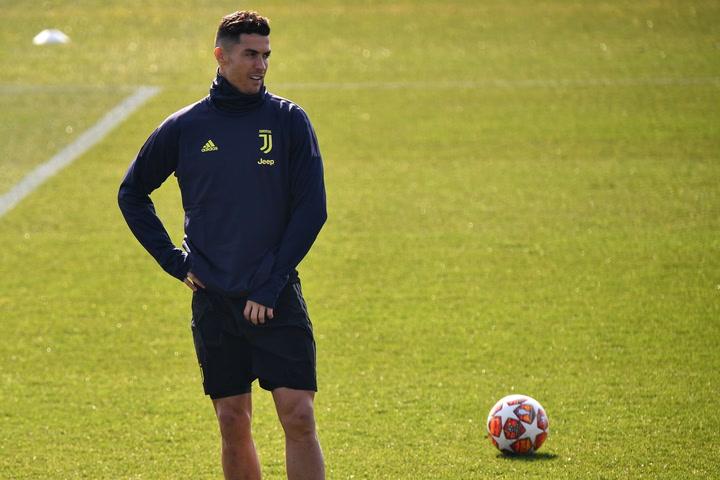 Cristiano Ronaldo se entrena estos días a las órdenes de Pirlo en la Juventus
