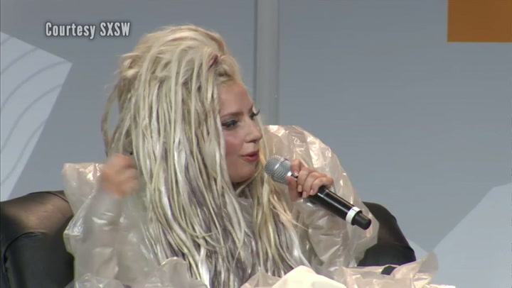 Festivals: SXSW 2014: Lady Gaga Interview 3