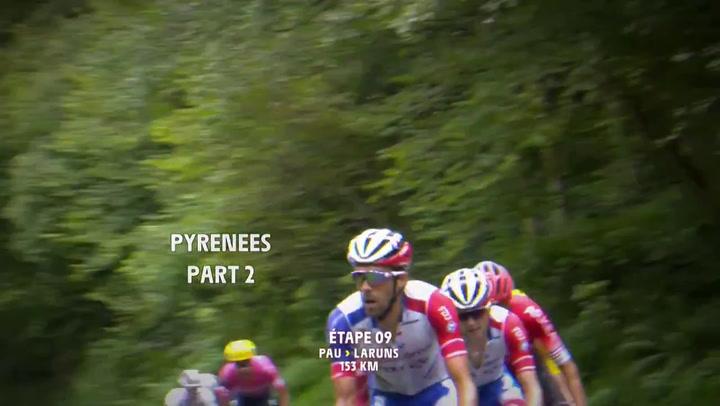 El esloveno Tadej Pogacar gana la etapa 9 del Tour de Francia