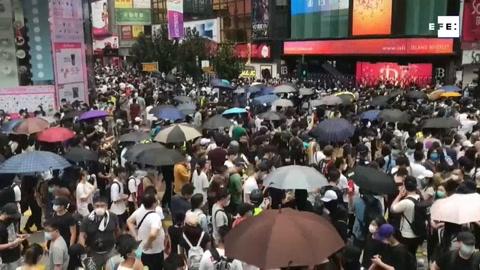 Las protestas en Hong Kong contra la Ley de Seguridad china