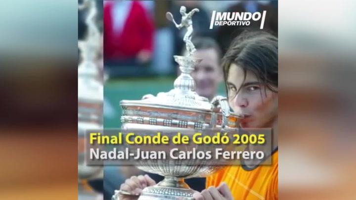 Los 11 títulos de Rafa Nadal en el Conde de Godó