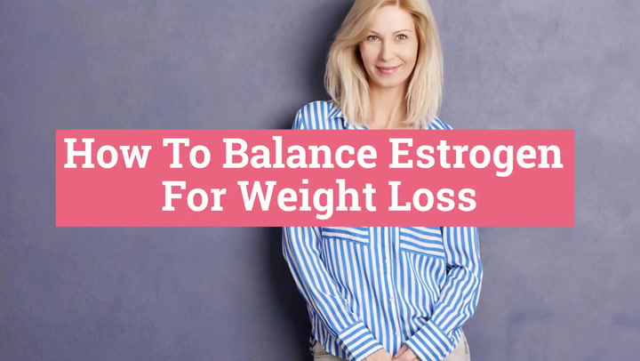 How to Balance Hormones for weight loss