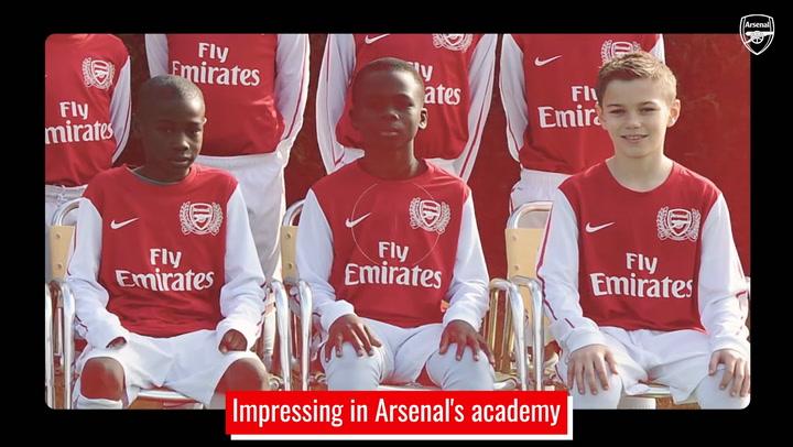 Bukayo Saka's incredible rise at Arsenal
