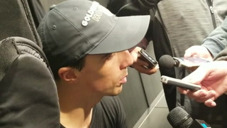 Golden Knights goaltender Marc-Andre Fleury on his concussion