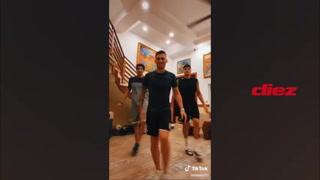 A falta de fútbol, Esteban Espíndola y Bruno Volpi se entretienen haciendo Tik Tok