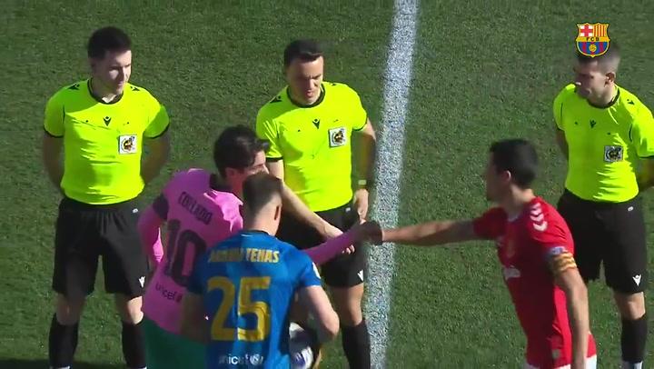 Resumen del Nàstic - Barça B