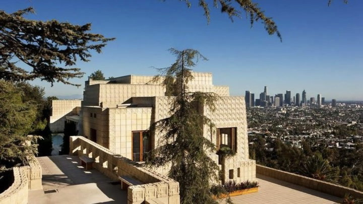 Frank Lloyd Wright's Iconic Ennis House in L.A. for Sale—Look Inside!
