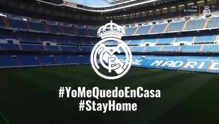 El Real Madrid lanza un emotivo vídeo para agradecer el esfuerzo de los trabajadores