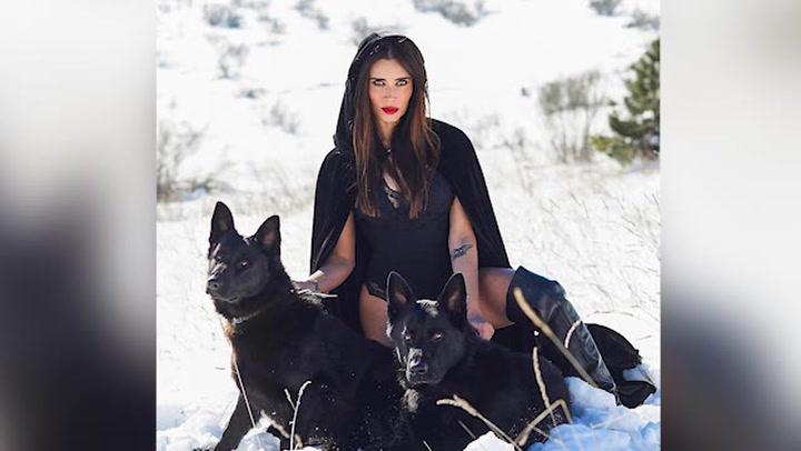La Pilar Rubio más sexy y divertida, en la nieve